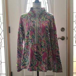 Lilly Pulitzer Popover in Multi Palm Reader